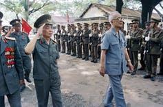 Le général Vo Nguyen Giap